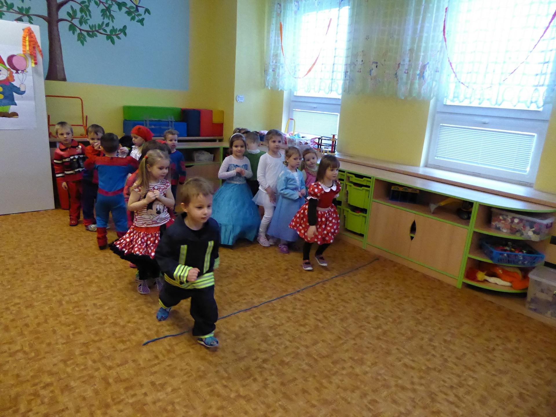soutěžící děti