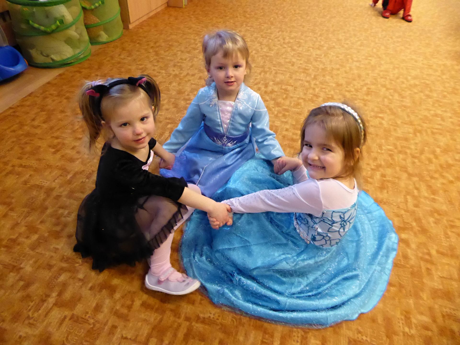 trojice princezen