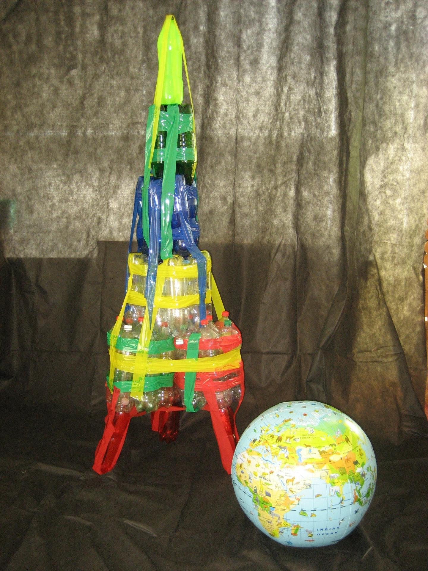 Raketa a zeměkoule