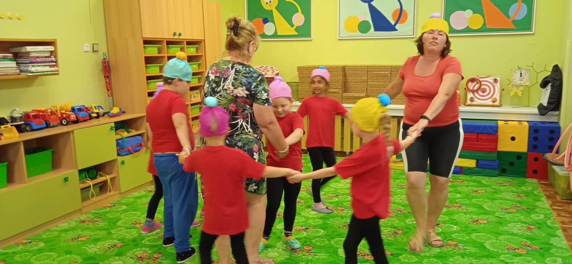 Tanec předškoláků 1
