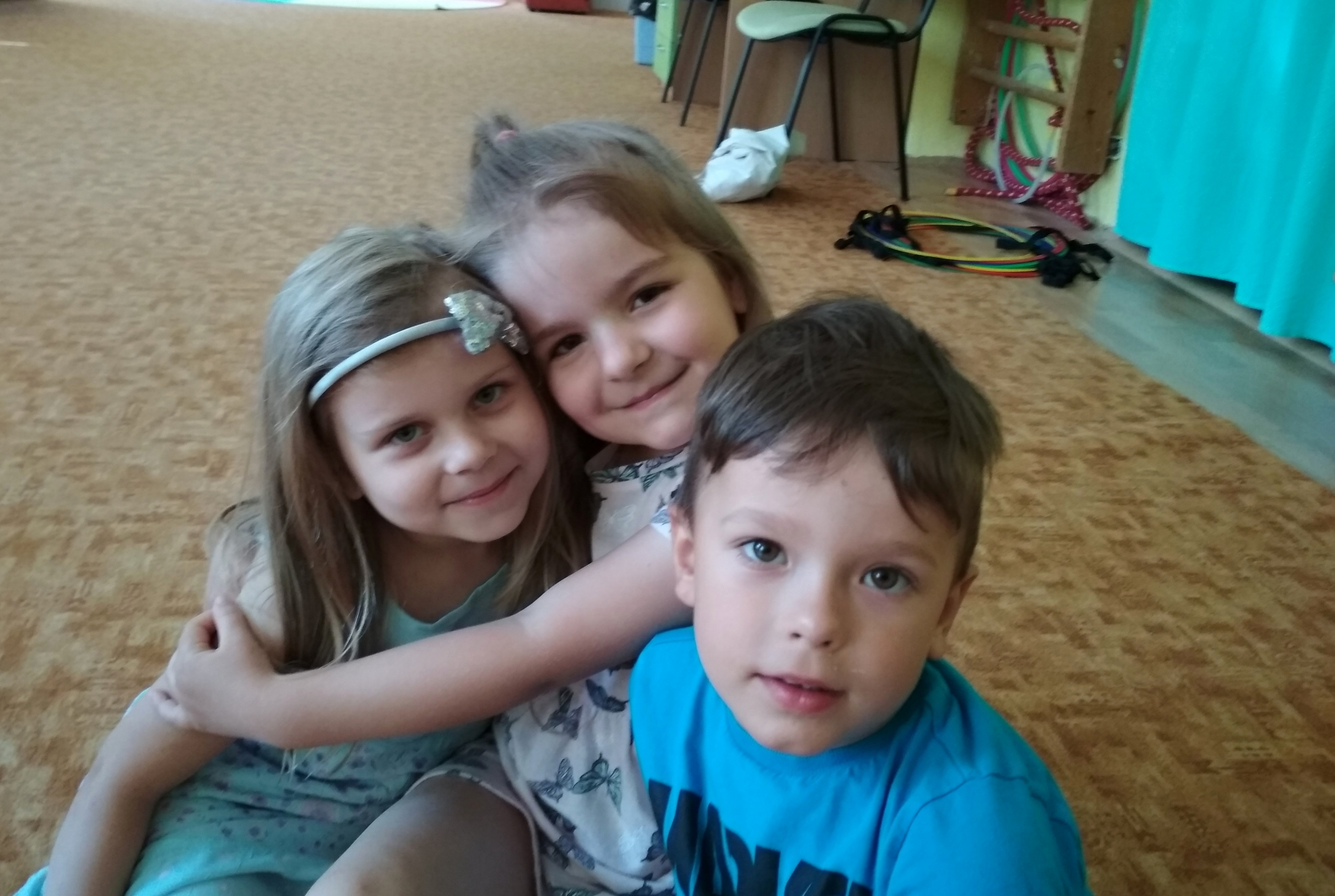 tři kamarádi