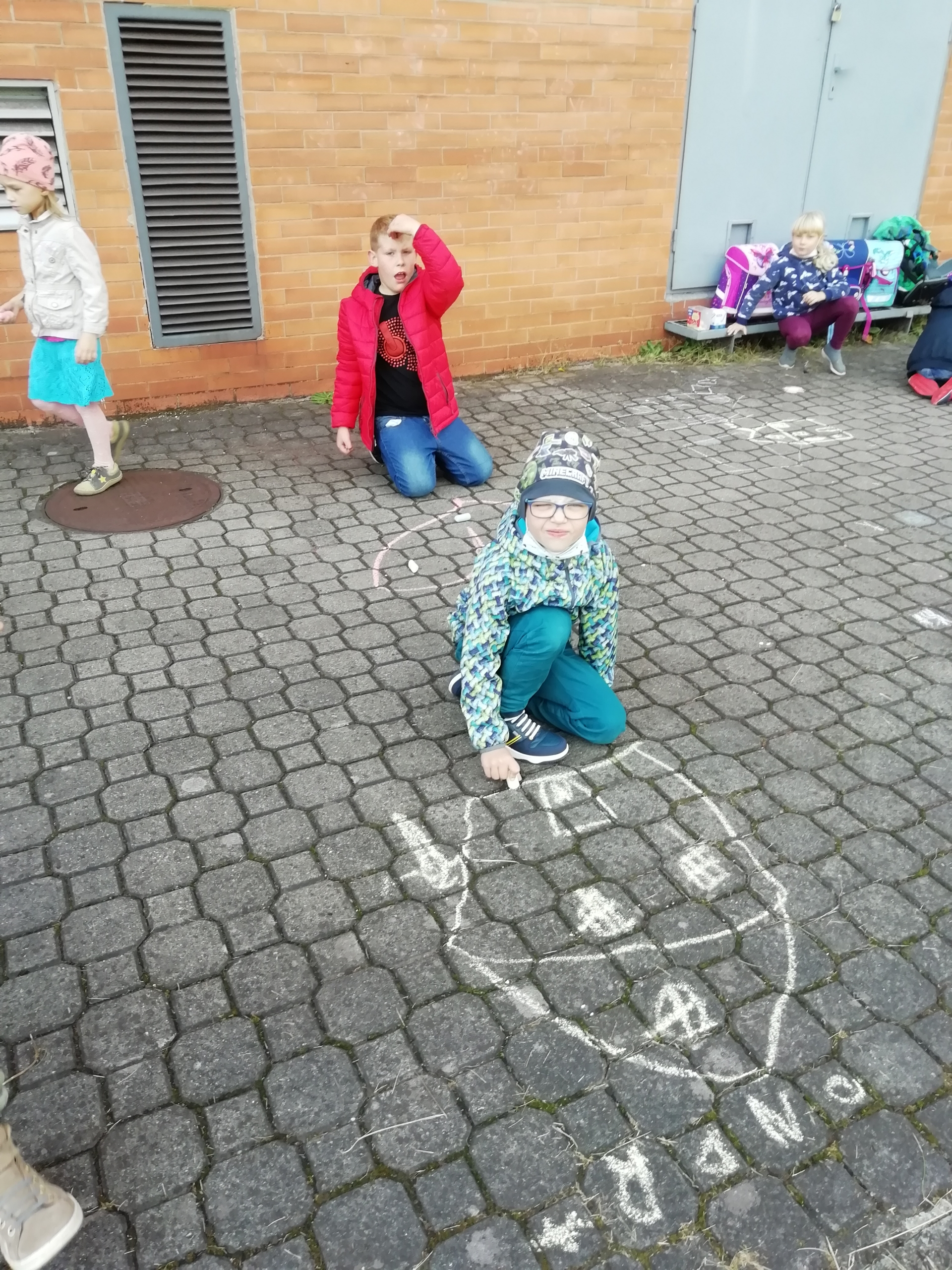 Kreslení na chodník