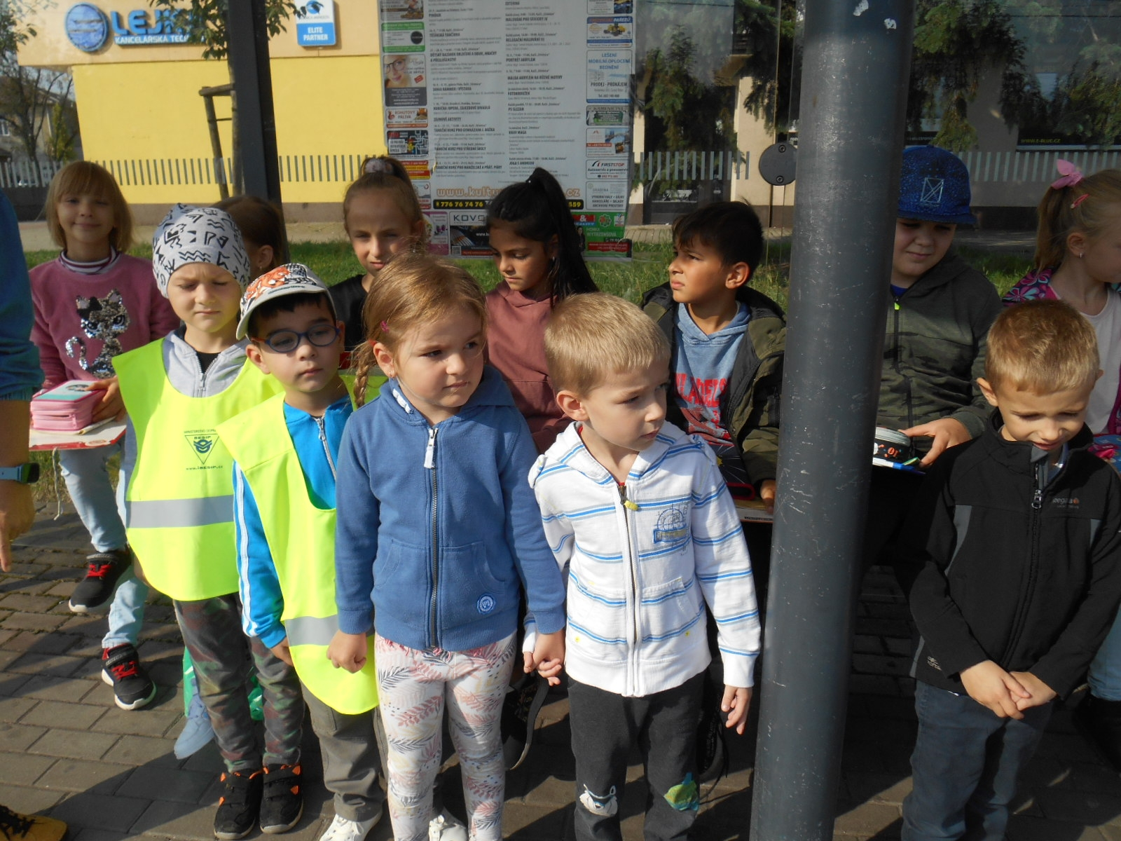 Setkání s dětmi 4. třídy ZŠ.